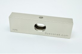 "SVK 0202-FLH - ""Hollow Floating Jaw Plate / Machinable / 7075"""