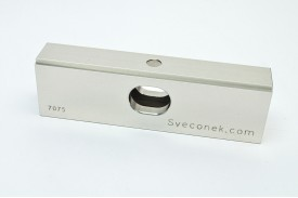"SVK 0102-FLH - ""Hollow Floating Jaw Plate w/Integrated Step / 7075"""