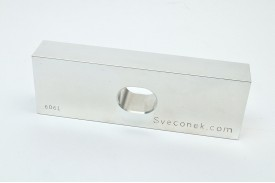 "SVK 0301-FLT - ""Floating Jaw Plate / Machinable / 6061"