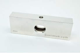 "SVK 0302-FLH - ""Hollow Floating Jaw Plate / Machinable / 6061"