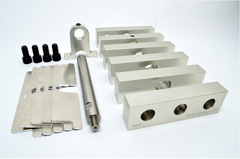 "SVK 0400-010 - ""Machinable Blanks / Complete Kit / 7075"""
